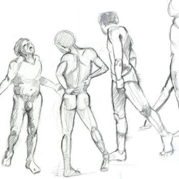 Drawing, gesture